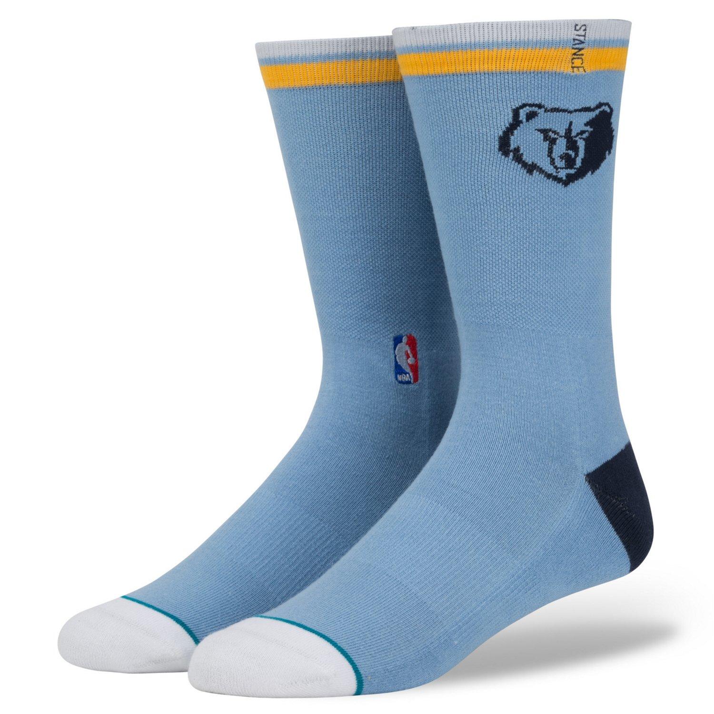 Stance Men's Memphis Grizzlies Arena Logo Crew Socks