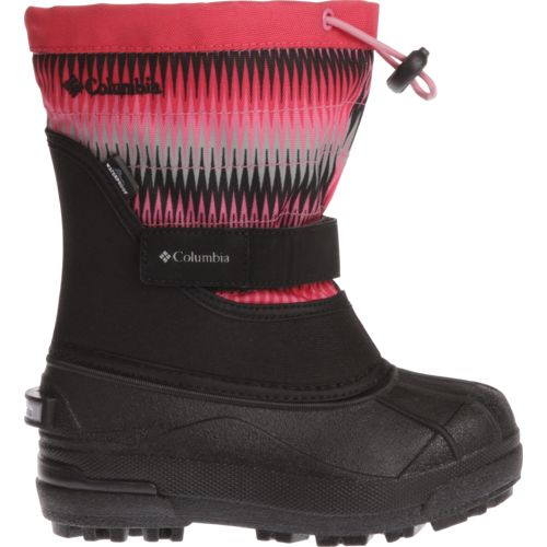 Columbia Sportswear Kids' Powderbug Plus II Printed Snow Boots - view number 1