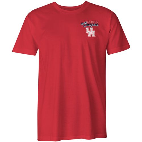 Image One Women's University of Houston Laces and Bows Comfort Color T-shirt - view number 2