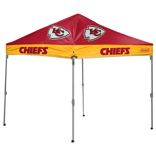 Coleman® Kansas City Chiefs 10' x 10' Straight-Leg Canopy
