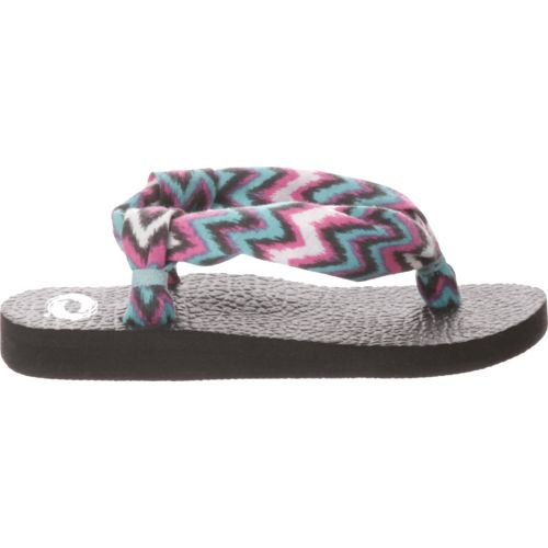 O'Rageous Girls' Soft Strap Sling Sandals