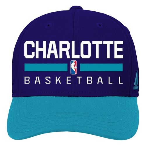 adidas™ Boys' Charlotte Hornets Structured Adjustable Cap