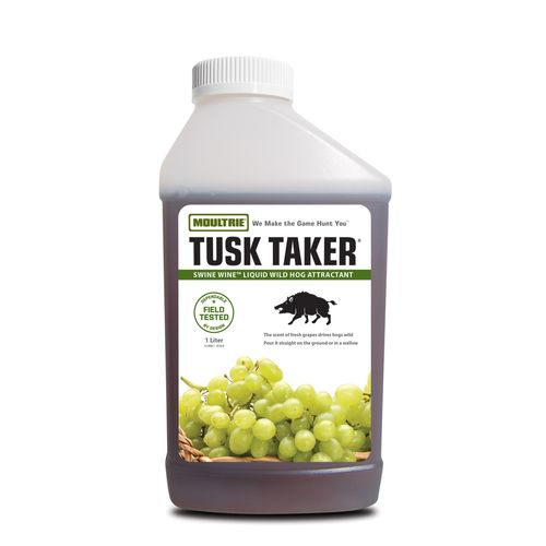 Moultrie Tusk Taker® Swine Wine 1-Liter Liquid Wild Hog Attractant - view number 1