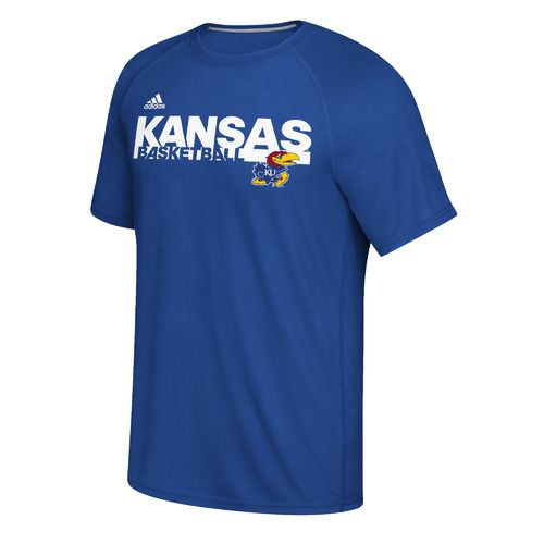 adidas™ Men's University of Kansas Sideline Grind climalite® Ultimate T-shirt
