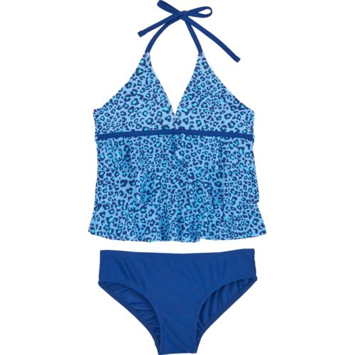 O'Rageous Kids Girls' Animal Planet 2-Piece Tankini Swimsuit