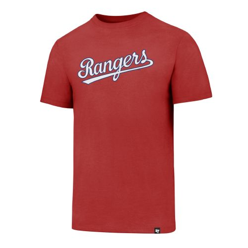 \u002747 Texas Rangers Script Club T-shirt