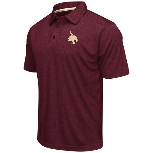 Colosseum Athletics™ Men's Texas State University Academy Axis Polo Shirt