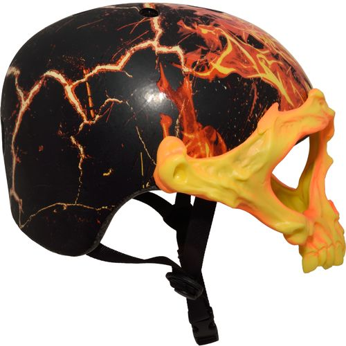 Krash Boys' Inferno Skull Mask Helmet - view number 3