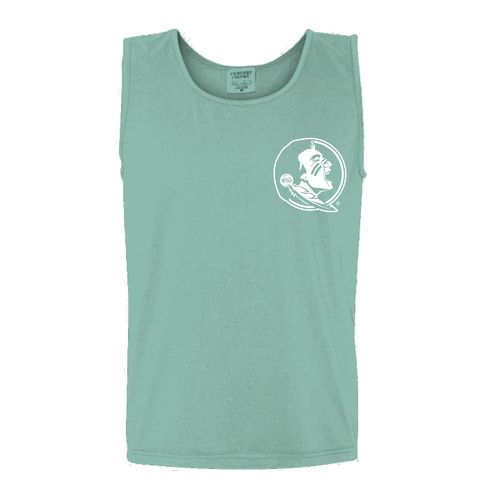New World Graphics Women's Florida State University Circle Flowers Tank Top - view number 2