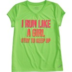 BCG Girls' Turbo Short Sleeve Training Graphic T-shirt - view number 4