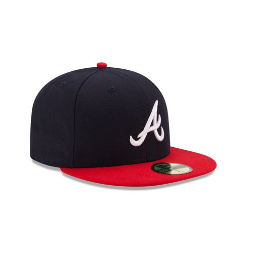 New Era Men's Atlanta Braves On-Field Authentic Collection 59FIFTY Cap - view number 3