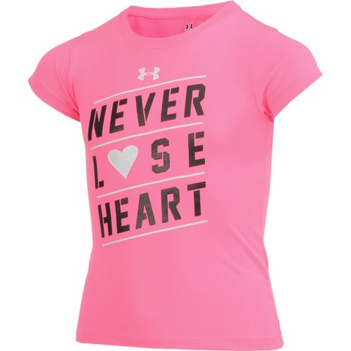 Under Armour Girls' Never Lose Heart T-shirt - view number 3