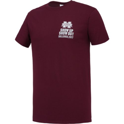New World Graphics Men's Mississippi State University Football Schedule '17 T-shirt - view number 3