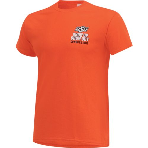 New World Graphics Men's Oklahoma State University Football Schedule '17 T-shirt - view number 3