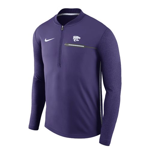 Nike™ Men's Kansas State University Coaches 1/4 Zip Pullover