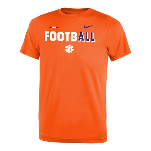 Nike Boys' Clemson University Legend Football T-shirt