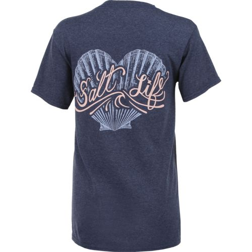 Salt Life Juniors' Seashell Love Short Sleeve T-shirt