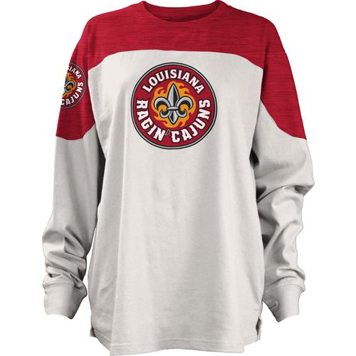 Three Squared Juniors' University of Louisiana at Lafayette Cannondale Long Sleeve T-shirt