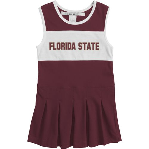 Chicka-d Girls' Florida State University Cheerleader Dress
