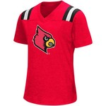 Colosseum Athletics Girls' University of Louisville Rugby Short Sleeve T-shirt - view number 1