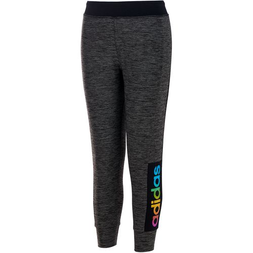 adidas Girls' Space Dyed Melange Jogger Pant