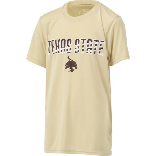 Colosseum Athletics Boys' Texas State University Team Stripe T-shirt - view number 3