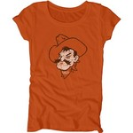 Blue 84 Juniors' Oklahoma State University Mascot Soft T-shirt - view number 1