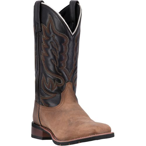 Laredo Men's Cowboy Approved Montana Leather Western Boots