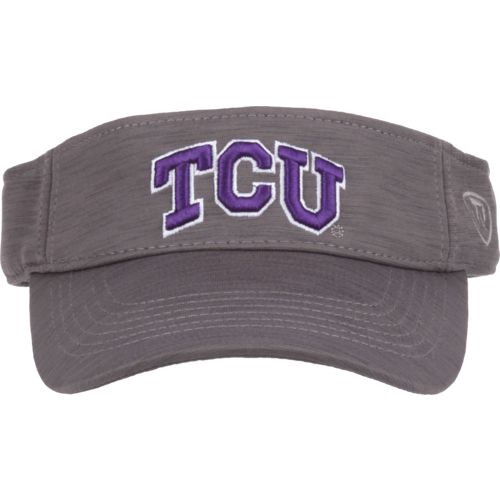 Top of the World Men's Texas Christian University Upright Visor