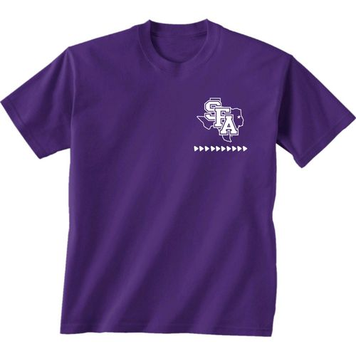 New World Graphics Women's Stephen F. Austin State University Terrain State T-shirt - view number 2