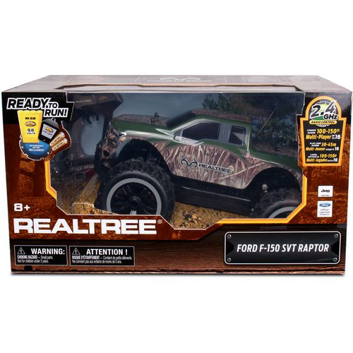 Realtree 1:10-Scale Ford F-150 SVT Raptor RC Truck - view number 2