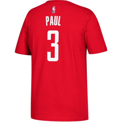adidas Men's Houston Rockets Chris Paul 3 Replica T-shirt
