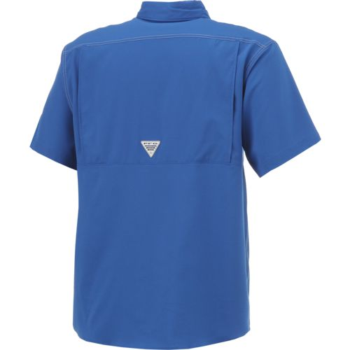 Columbia Sportswear Men's McNeese State University Low Drag Offshore Short Sleeve Shirt - view number 2
