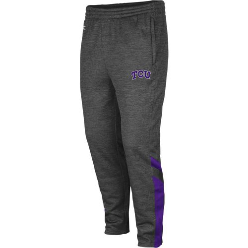 Colosseum Athletics Men's Texas Christian University Software Fleece Pant