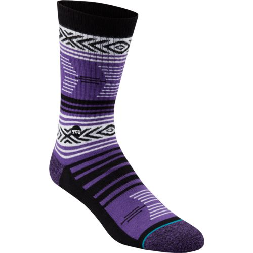 Stance Men's Texas Christian University Mazed Socks