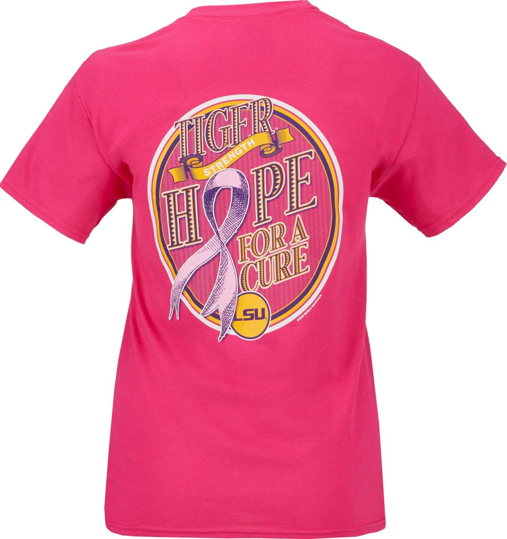 Cheap New World Graphics Women's Louisiana Tech University Breast Cancer Hope T-shirt for cheap