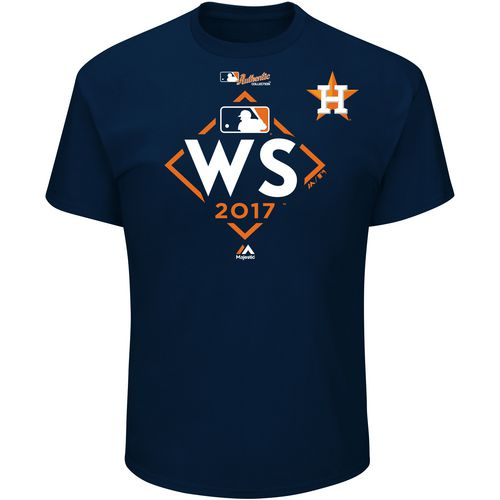 Display product reviews for Majestic Men's Astros World Series Participant T-Shirt