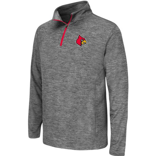 Colosseum Athletics Youth University of Louisville Action Pass 1/4 Zip Wind Shirt