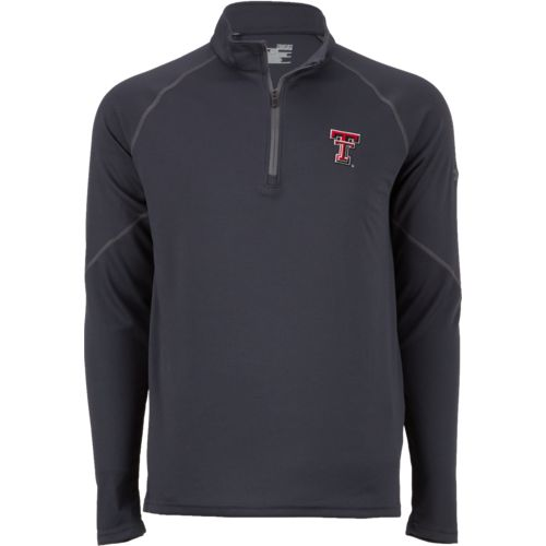 Under Armour Men's Texas Tech University Golf Waffle 1/4 Zip Jacket