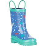 Austin Trading Co. Toddler Girls' Rubber Umbrella Boots - view number 2
