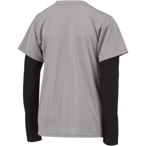 BCG Boys' Defend 'Til the End Long Sleeve Training T-shirt - view number 2