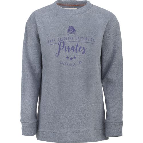 Three Squared Juniors' East Carolina University Finley Comfy Terry Pullover