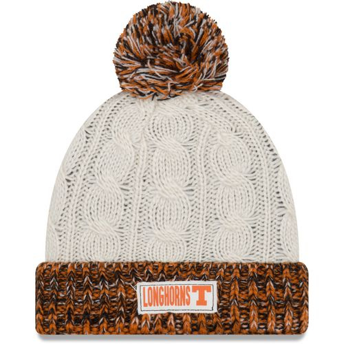 New Era Women's University of Texas Rugged Tag Knit Cap