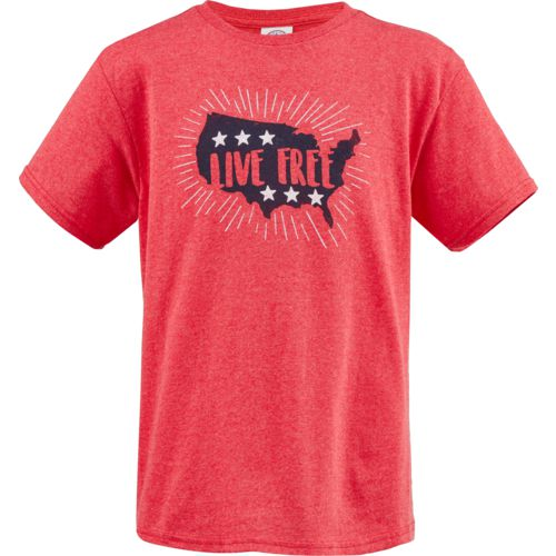 Academy Sports + Outdoors Boys' Live Free T-shirt
