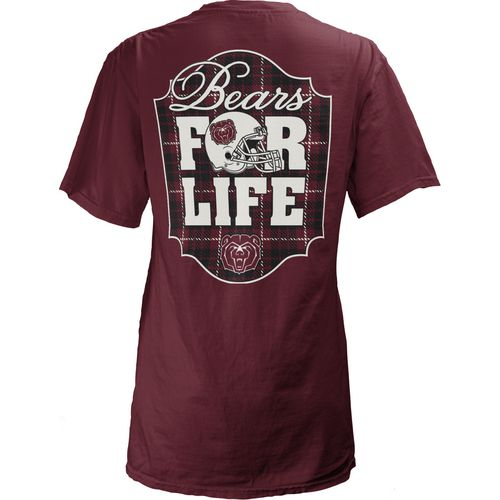 Three Squared Juniors' Missouri State University Team For Life Short Sleeve V-neck T-shirt