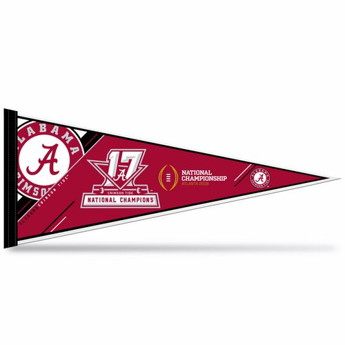 Rico University of Alabama 2017 CFP National Champions Pennant