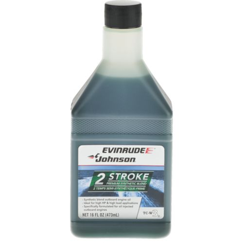Evinrude Johnson Premium Synthetic Blend Outboard Oil