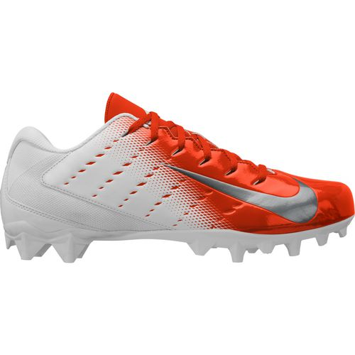 White/Metallic Silver/Rush Orange/Black