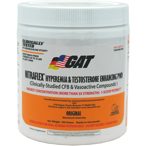 Display product reviews for GAT Nitraflex Preworkout Formula