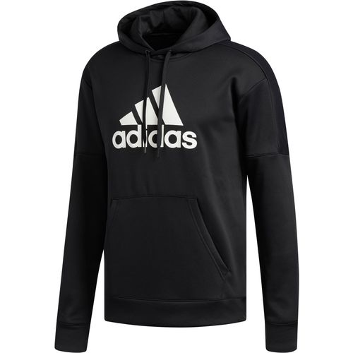 adidas Men's Team Issue Fleece Pullover Logo Hoodie